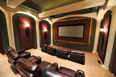 Home Theater Decorating Ideas Pictures by Decorating Your Home Theater Room Decorating Ideas