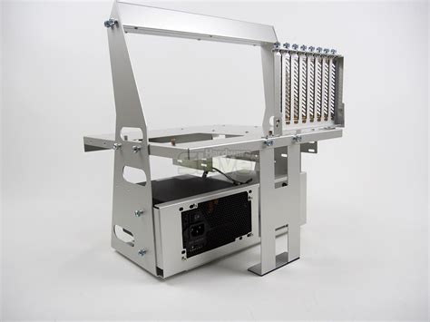 open air test bench lian li pitstop pc t60a open air test bench review