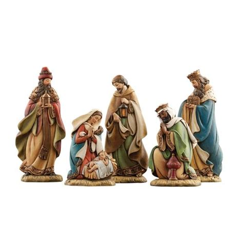 5 piece miniature nativity set christmas nativity set