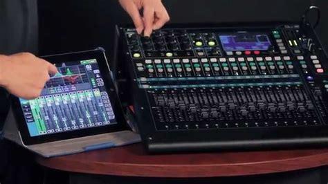 Mixer Digital Allen Heath Qu 16 allen heath qu 16 rack mount digital mixer demo