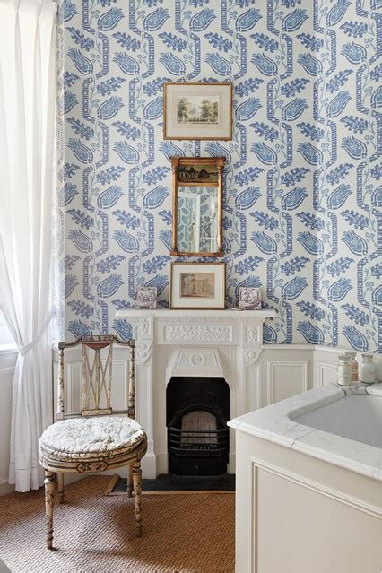 bathroom wallpaper ideas uk blue white bathroom wallpaper bathroom design ideas