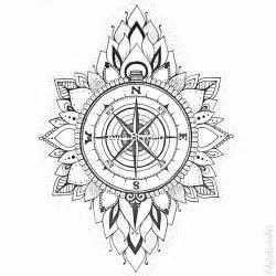 tattoo compass mandala hand drawn compass mandala design by ayla bryden