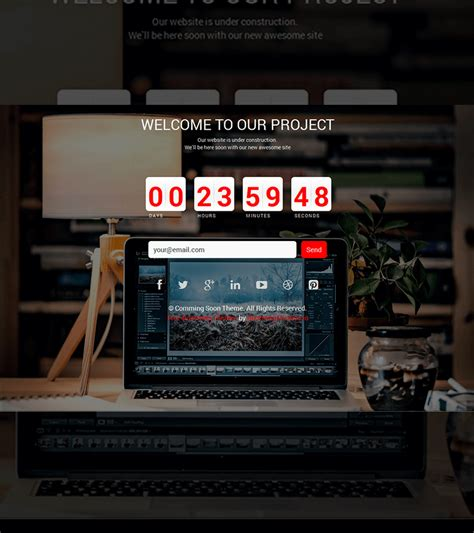 camin soon comingsoon free html bootstrap template bootstrapmade