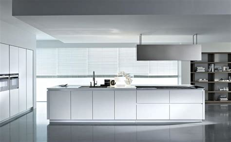 Modern White Gloss Kitchen Cabinets White High Gloss Contemporary Kitchen Design Jpg From Pedini Italian Kitchen Cabinets In San