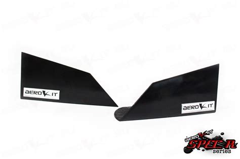 Winglet Diffuser Universal Original aerokit universal bumper winglets r3 universal fitting for race use drift use increased downforce