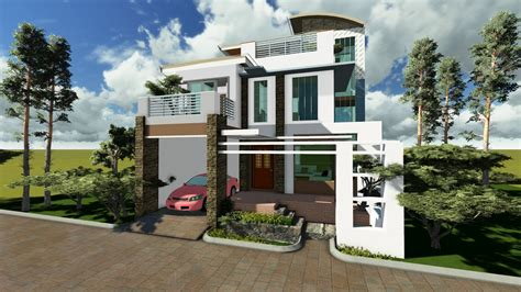 house design in philippines modern house plan