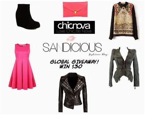 Global Giveaway - global giveaway with chicnova międzynarodowe rozdanie z chicnova sandicious