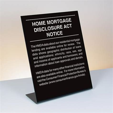 home mortgage disclosure act