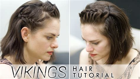 simple viking hair want to get viking braids but only have short hair in