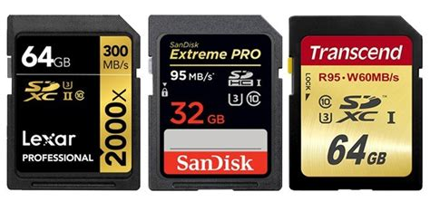 best sdxc the best sdhc sdxc memory cards in 2017 best photography