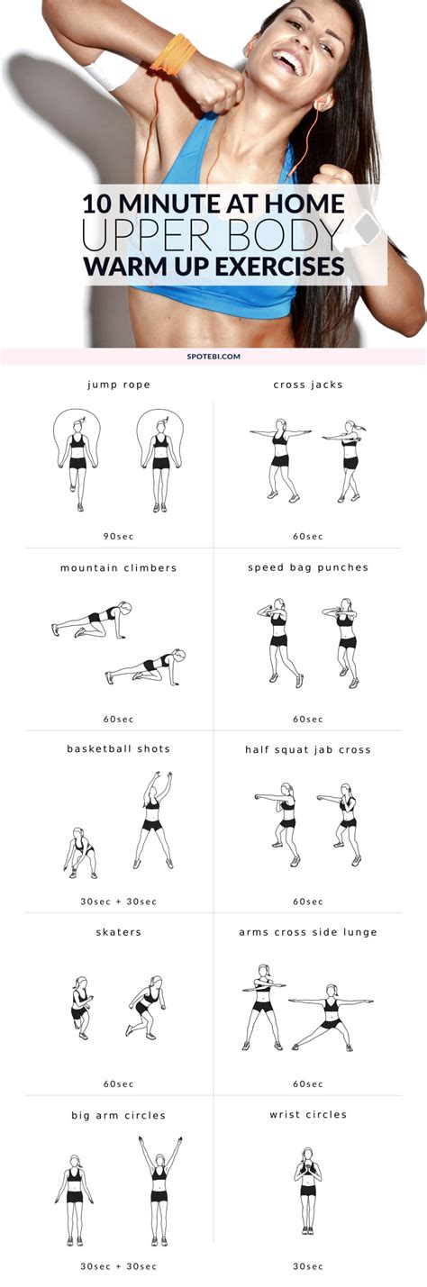 warm up exercises for