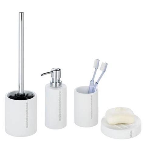 Wenko Bathroom Accessories Wenko Bathroom Accessories Set White At Plumbing Uk