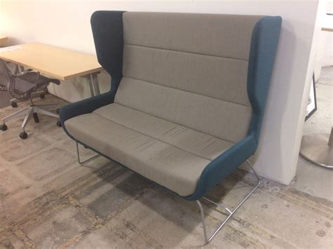 sofa base repair hush 2 seat sled base sofa 187 office outlet an outlet