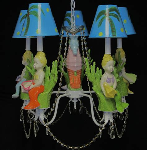 Children Chandelier Mermaid Chandelier Room Chandelier Room Lighting