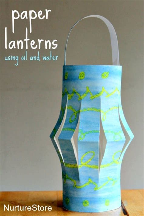 How To Make Lantern Using Paper - paper lanterns ramadan craft nurturestore