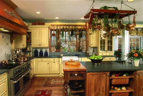 country kitchen decor 21 amazing country kitchens terrys fabrics s blog