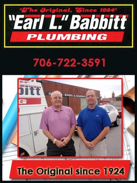 Babbitt Earl L Plumbing Co Inc   Augusta, GA 30901   Angies List