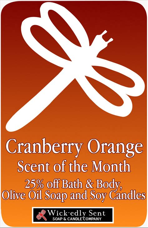 Fragrance Of The Month Cranberry Bark by November S Newsletter Scent Of The Month 25 Free