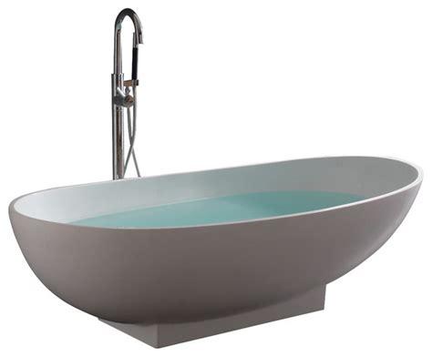 Stand Bathtub by Stand Alone Resin Bathtub Bathtubs By Adm Bathroom Design