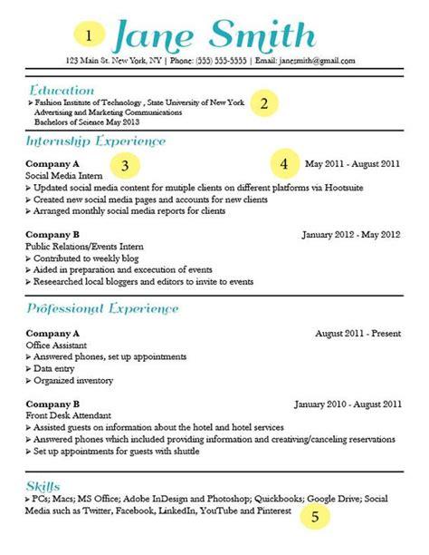 catchy resume templates the world s catalog of ideas