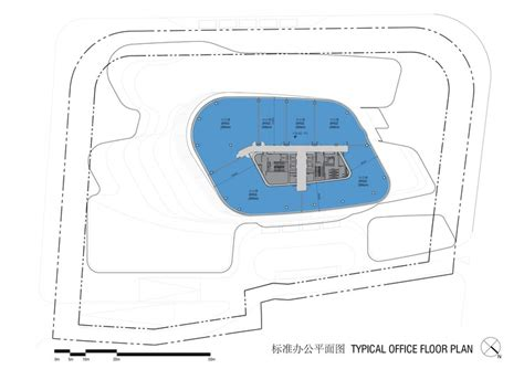 typical office floor plan aedas quot cloud on terrace quot will bring vertical public space
