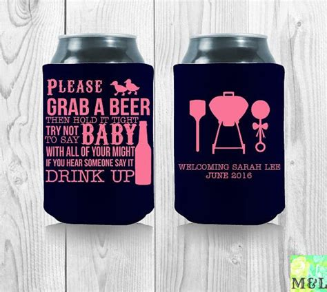 Baby Shower Koozies by 66 Best Baby Shower Koozies Images On Template