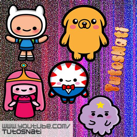 imagenes kawaii pack de iconos hora de aventura kawaii by tutosnatisub on