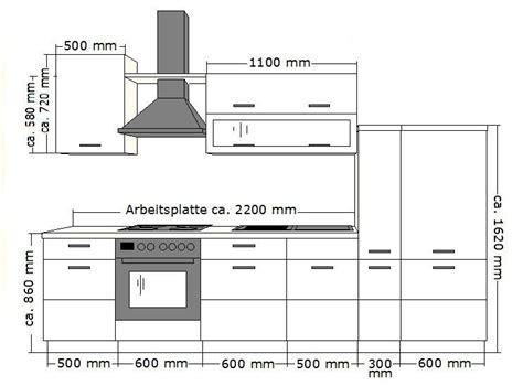 schublade grundriss k 252 che fabienne 310 cm k 252 chenzeile in schwarz wei 223