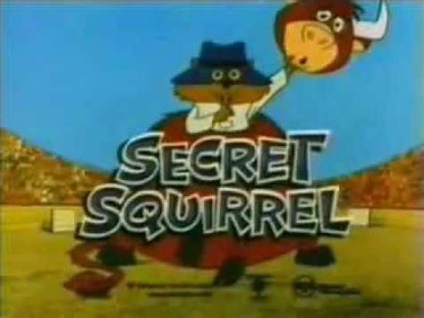 secret intro secret squirrel intro