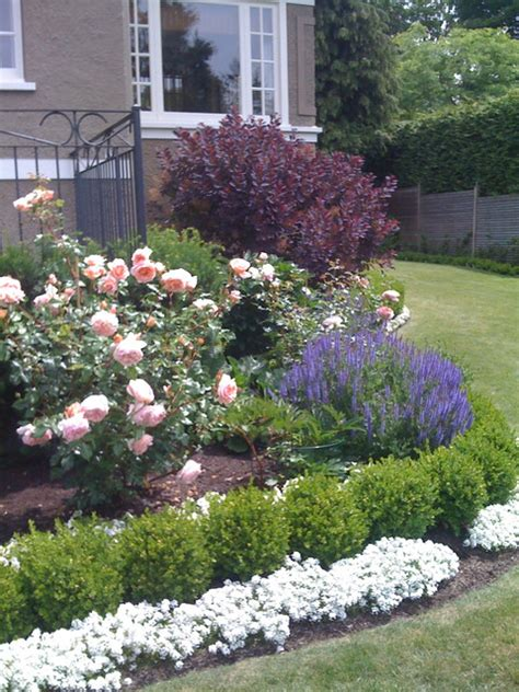 traditional roses and lavender traditional landscape vancouver by glenna partridge