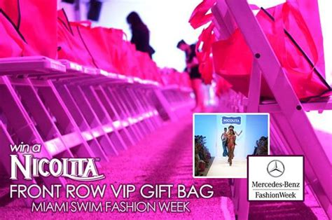 Win A 800 Vip Goodie Bag by Explore Modeling Win A Nicolita Vip Gift Bag From