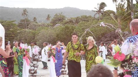 A Wedding Blessing Song Youtube Chris Gemma S Wedding Blessing Samoa