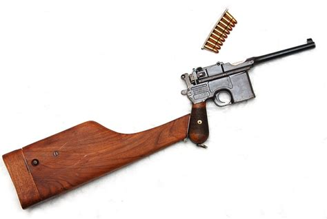 the broomhandle mauser weapon c96 broomhandle mauser gun მაუზერი mauzeri