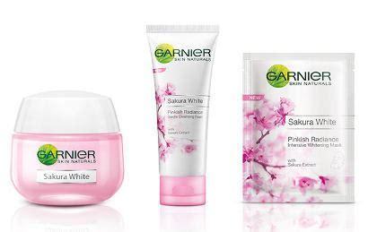Pembersih Muka Garnier garnier rilis produk dengan ekstrak bunga untuk