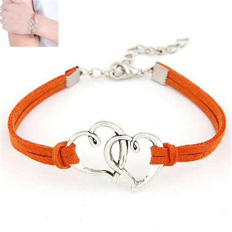 rope for jewelry charm handmade rope weave bracelet with alloy for