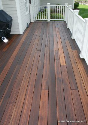 mahogany decks mahogany deck finished   medium brown