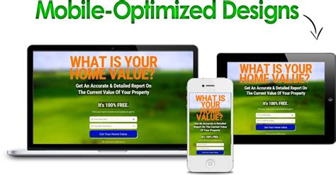 Real Estate Squeeze Pages Cost Effective Lead Generati Real Estate Squeeze Page Templates