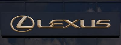 gold lexus logo the reader