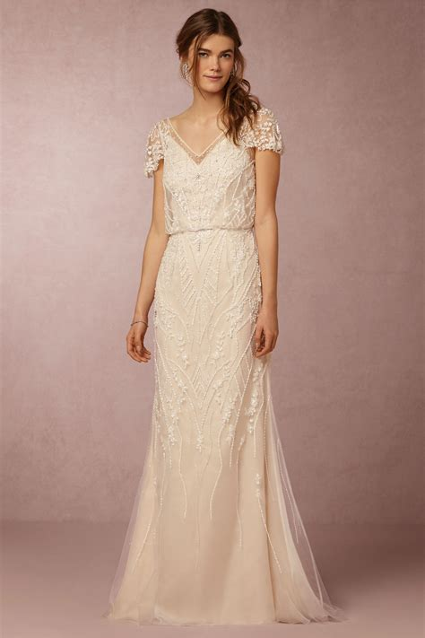 Which Wedding Dress by Bhldn Gown In At Bhldn Wedding Dress Hair