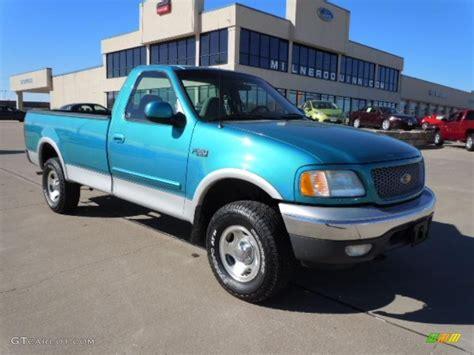 1999 island blue metallic ford f150 xlt regular cab 4x4
