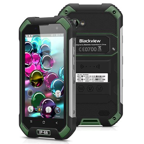 Blackview Bv6000s Waterproof Android 6 0 Octa 4g Lte 2gb Ram 16 D blackview bv6000s 4g smartphone waterproof android 6 0 16gb green eu ebay