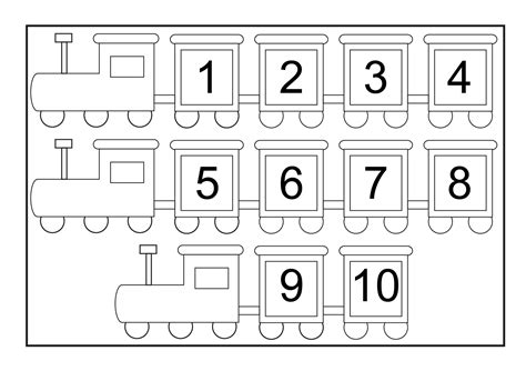 free printable numbers 1 to 10 kindergarten worksheets numbers 1 10 writing numbers 1