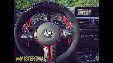 bmw m steering wheel bmw m performance electronic steering wheel 2017 f82 m4
