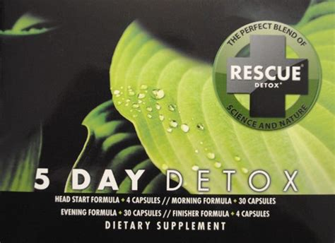 Rescue 5 Day Permanent Detox Kit Reviews by Rescue Detox Permanent 5 Day Detox Reviews Autos Post