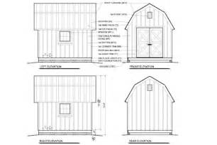 Barn Shed Plans Free 10x12 Barn Shed Plans Gambrel Shed Plans