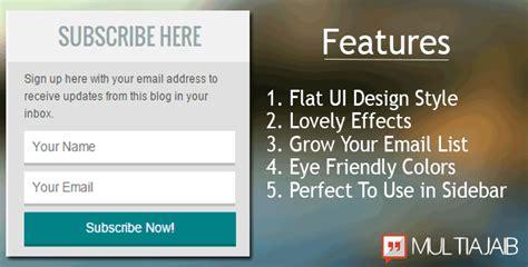 cara membuat spm up 2015 just emmie cara membuat widget email subscribe keren di blog