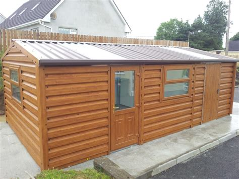 Insulated Outdoor Storage Sheds Steel Sheds Ireland Dublin Wicklow Wexford Sheds Fencing