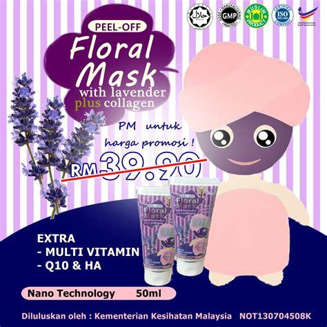 Masker Wajah Pixy famirah corner floral mask dian pixy dian z harga