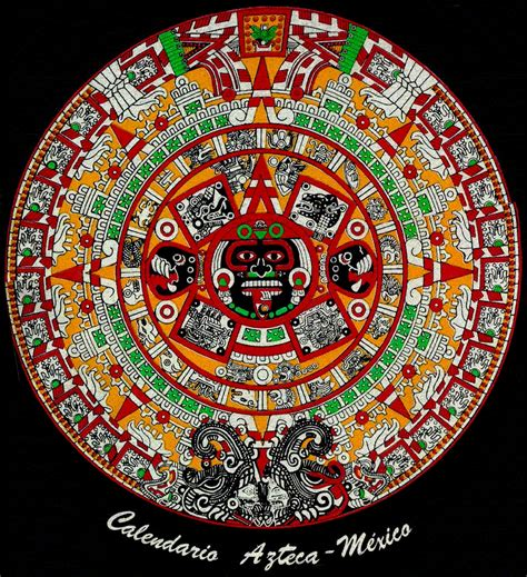 imagenes de fondos aztecas el calendario azteca o mexica yoreme s weblog