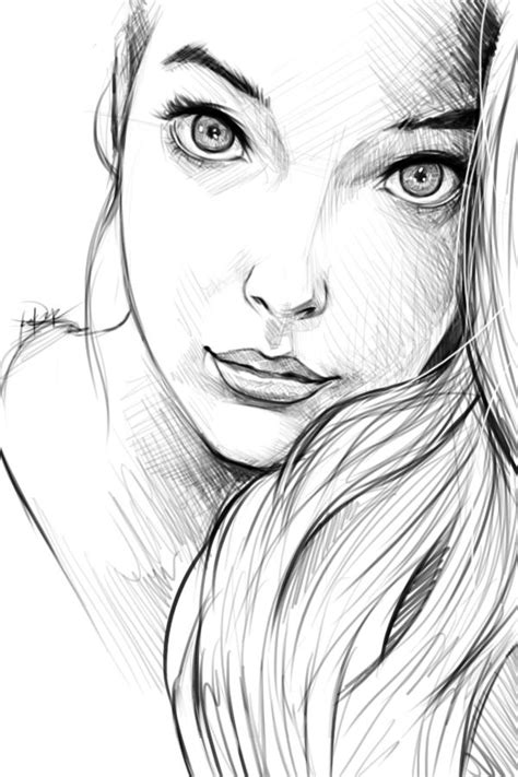 pretty girl face drawing 638 best images about sketch on pinterest traditional